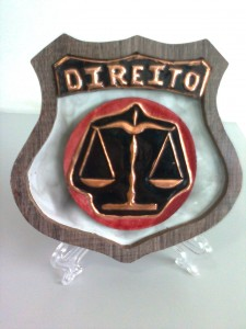 DIREITO - Placa decorativa
