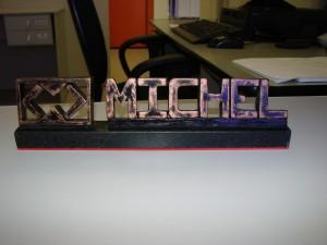 PLACA MICHEL