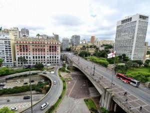 São Paulo, Brasil, 06/11/2012 -VIADUTO DO CHÁ - 120 anos. Crédito: Fernando Borges